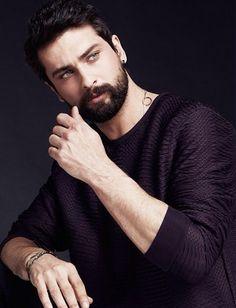 not the real one enjoy the pictures x Turkish Men, Turkish Beauty, Turkish Actors, Hairy Men, Bearded Men, Hot Actors, Actors & Actresses, Pretty Men, Beautiful Men