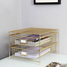 The Threshold Grid Wire Drawer Organizer is to organize and keep articles in handy. This Grid Wire Drawer Organizer invents a sense of noble and elegant. A perfect corporate choice for executives, partners, businessman and managers. Office Desk Organization, Office Storage, Target Organization, Desktop Organization, Organization Ideas, Storage Ideas, Work Desk Decor, Office Decor, Office Chairs