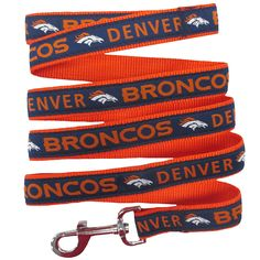 Pets First Denver Broncos Pet Leash, Large *** Want to know more, click on the image.