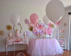 Give your party a more elegant look with a tutu table skirt. Perfect for birthday parties, baby showers, weddings, graduation parties, receptions,