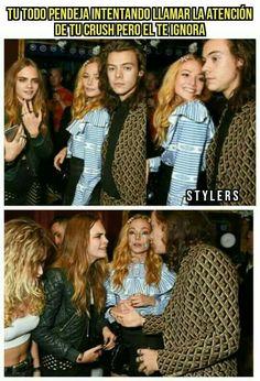 Eso debió arder we. One Direction Jokes, 0ne Direction, Harry Styles Memes, Crush Memes, 1direction, Cara Delevingne, Larry Stylinson, Zayn Malik, Louis Tomlinson