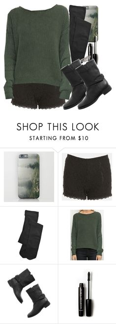 """""""Allison Inspired Outfit with Black Tights"""" by veterization ❤ liked on Polyvore featuring Tildon, Comptoir Des Cotonniers, Madewell, Forever 21 and Rebecca Minkoff"""