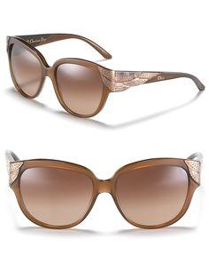Dior Square Cat Eye Sunglasses   Bloomingdale's