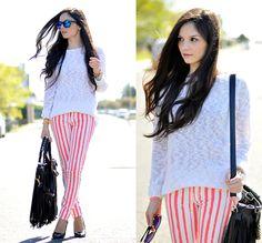 Alba .. - ...Striped Pants...