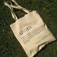 becreativespace / ADHD taška - MINDLESS Adhd, Reusable Tote Bags