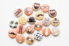 Hey, I found this really awesome Etsy listing at https://www.etsy.com/listing/175948807/pin-back-buttons-hipster-buttons-set-of