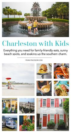 Looking for a great family-friendly travel destination? Don't miss Charleston, SC! This charming southern city has the best of everything: beaches, museums, and more. Charleston has everything you need for the perfect family vacation or road trip. Travel With Kids, Family Travel, Charleston Sc Restaurants, Charleston Beaches, Kid Friendly Restaurants, Best Vacations, Family Vacations, Family Trips, Best Family Vacation Spots