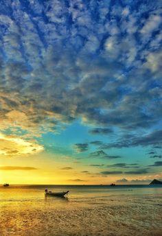 ✯ Sunset on Koh Tao Island