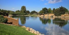 Beautiful picture of Centennial park on the City of Centennial's official website.