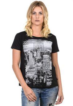 Camiseta Feminina estampa sao paulo