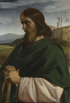 """""""Hallelujah! Blessed the man who fears the LORD, who greatly delights in his commands."""" Psalm 111(112):1 // Saint Joseph / San José // 1847 // William Dyce // Royal Collection Trust (UK)"""