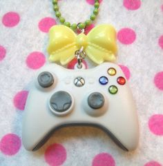 Funky Xbox Controller Gamer Necklace by hobbittownjewelry on Etsy, $28.00