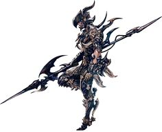 Final Fantasy XIV: A Realm Reborn - Elezen Dragoon