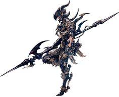 Elezen Dragoon - Pictures & Characters Art - Final Fantasy XIV: A Realm Reborn