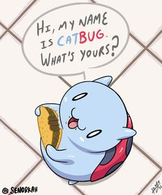senorkah:  CatBug from Bravest Warriors  Awesome job Senorkah! If you have some more greatBravest Warriors fan art that you would like to submit, click right here to find out how to do just that! Also, be sure to check out the latest episode, Bravest Warriors: Season of the Mitch! -Kiki
