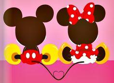 Mickey+Minnie:)