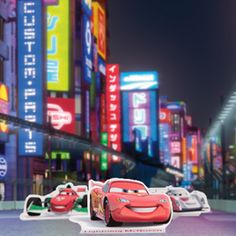 Cars 2 Full color printables