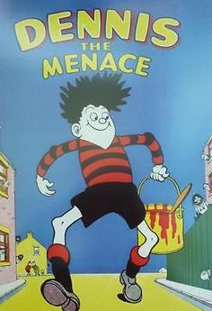 A3 beano annual dennis the menace book #comic no 1 1956 poster #paint dog #thomps,  View more on the LINK: 	http://www.zeppy.io/product/gb/2/371015902965/
