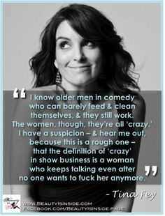 Tina Fey- I love her!