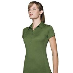 Icebreaker Resort Polo Jungle - Small ** | Polo shirts korte mouw | MOOSECAMPwebshop