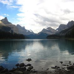 Maligne Lake Reflections - redbubble.com