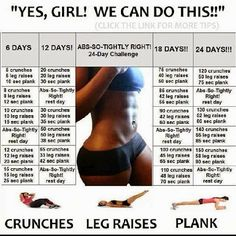 black women do workout 24 day challenge - Google Search ***black women beauty tips***