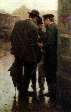 The Athenaeum - Conversation (Nikolai Pimonenko - )