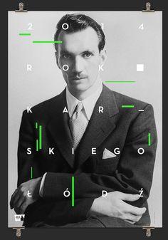 Krzysztof Iwanski (PL) https://www.behance.net/gallery/16468743/100th-Anniversary-of-the-Jan-Karskis-birth