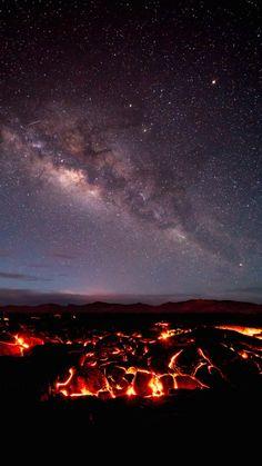 La Vía Láctea desde la isla de Hawái – El Universo Hoy                                                                                                                                                     Más
