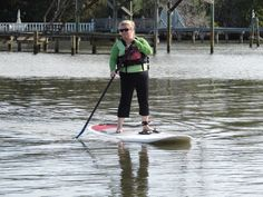 Clean paddle strokes help you maintain balance and confidence on the board. Flat water is great training ground for new Stand Up Paddleboard users.