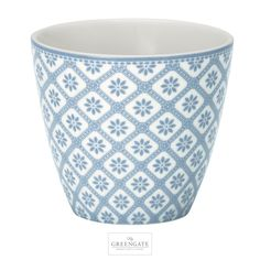 GreenGate latte cup Bianca dusty blue AW16