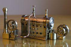 """""""Model steam engine"""" by Paul Fleet - £7.00"""