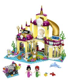 Amazon.com: LEGO Disney Princess Ariel's Undersea Palace: Toys & Games