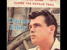 """Duane Eddy and his characteristically """"twangy"""" sound in Peter Gunn song Music Like, Kinds Of Music, My Music, Music Songs, Music Videos, Duane Eddy, Play It Again Sam, The Ventures, Jim Reeves"""