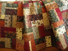 patchwork quilt cabin decor by patchworkmountain.com