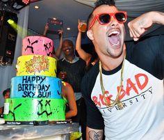 Sky Blu of LMFAO Celebrates 26th Birthday at PURE Nightclub