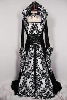 # GOTH WEDDING DRESS