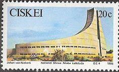 Stamp: Independence, 5th Anniversary: Ntaba kaNdoda (South Africa, Homelands) (Ciskei) Mi:ZA-CS 107,Sn:ZA-CS 99 Homeland, South Africa, Tank Man, Anniversary, African, Stamps, Seals, Stamping, Postage Stamps