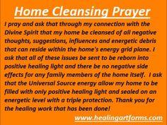Home Cleansing Prayer Mais Smudging Prayer, Sage Smudging, Spiritual Prayers, Spiritual Awakening, Spiritual Quotes, Spiritual Growth, House Blessing, Spiritual Cleansing, Prayer Board