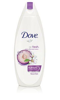 Dove Body Wash, go fresh, Rebalance, Plum and Sakura Blossom, 24 Ounce Dove Body Wash, Routine, Natural Moisturizer, Body Mist, Body Treatments, Perfume Oils, Beauty Care, Beauty Tips, Smell Good