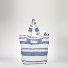 Striped Beach Tote - Totes  Handbags - RalphLauren.com