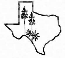 White Texas Outline Png