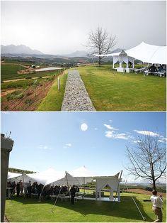 landtscap - ceremony tent