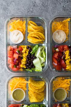 Cold Lunches, Prepped Lunches, Lunch Snacks, Cold Meals, Bento Lunch Ideas, Lunchbox Ideas, Lunch Meal Prep, Healthy Meal Prep, Healthy Snacks