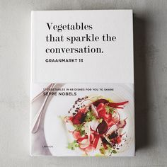"""From acclaimed chef Seppe Nobels, this vibrant collection includes 68 healthy and delicious recipes that put the spotlight on vegetables. The 2015 Vegetables Chef of the Year, Nobels offers creative and easy-to-prepare dishes that are perfect to share with family and friends.- 208 pages- Hardcover- Lannoo Publishers10.8""""H, 7.7""""W, 1""""D"""