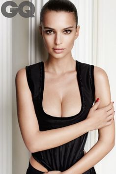 Ratajkowski appears in front of Testino's lens for the British imprint of 'GQ. Description from hypebeast.com. I searched for this on bing.com/images
