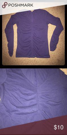 Cabi V neck long sleeve top Cabi Vneck long sleeve top❗️ CAbi Tops Tees - Long Sleeve