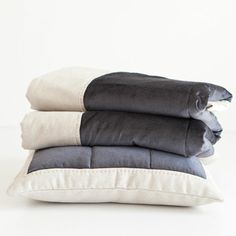 Gray Velvet Decorative Quilt and Pillow Cover | ZARA HOME United States of America