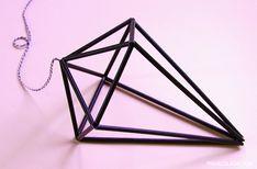 Pinjacolada: DIY Diamond himmeli + tutorial