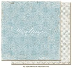 Maja Design - Vintage Romance - Happily Everafter now available at The Rubber Buggy